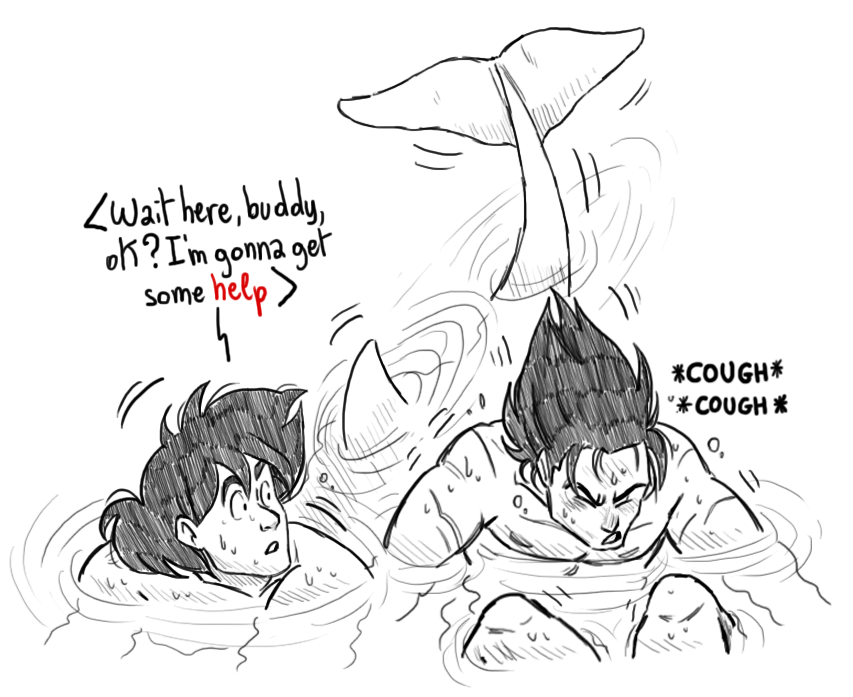 art little mermaid au we took a damned long time to reach