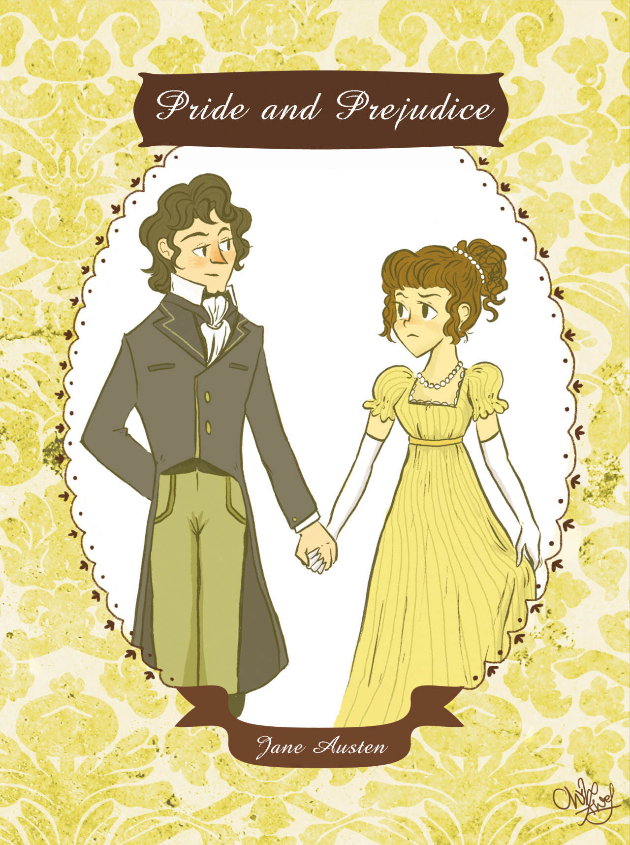 The Yellow Wallpaper Important Quotes My Art Fanart Pride And Prejudice Emma Jane Austen