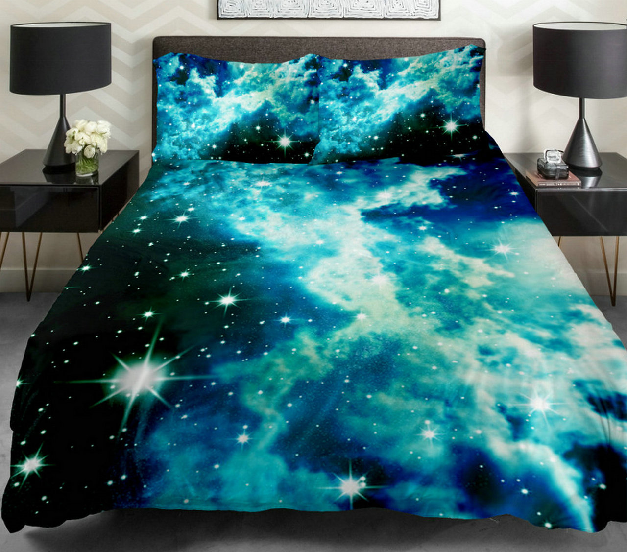 sky design space galaxy nebula stars night sky clouds outer space creativity planets solar