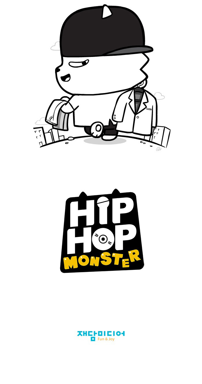 [Webtoon] Hip Hop Monster Chapter 1 : A Flashy Appearance