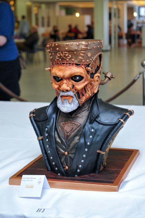 Geek Art Sweets Steampunk Frankenstein Cake