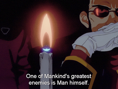 Image result for gendo quote evangelion