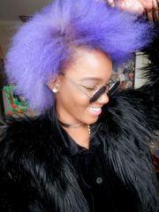 purple hair manic panic lavender