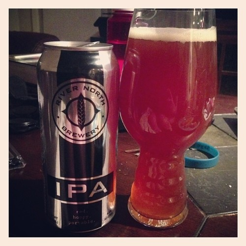 Tonight's drink of choice: @rivernorthbrew IPA #drinkandspoon #craftbeer #craftbeercommunity #beer #beerporn #beerpics #instabeer #instagood