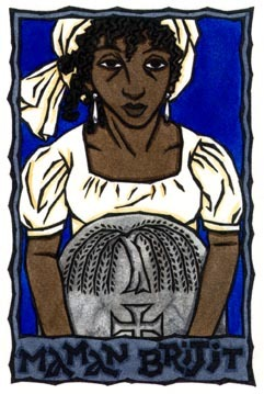 Maman Brigitte for Imbolc, since its Black History Month seemed appropriate. by Thalia Took