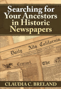 Historic Newspapers cover