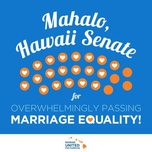 Wednesday night was a big night for Hawaii as well. Next up… The House of Representatives.