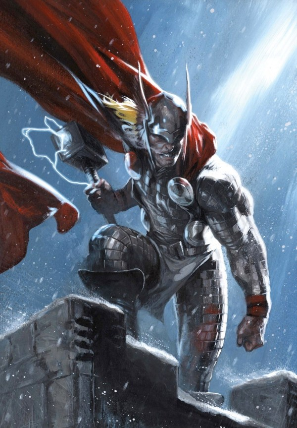 Thor God of Thunder Comic Art