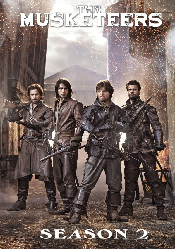 Image result for The Musketeers Season 2