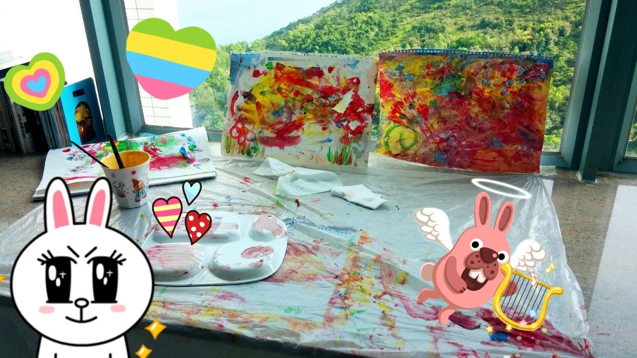 我們仨 五星級的家 I am feeling artistic today :))
