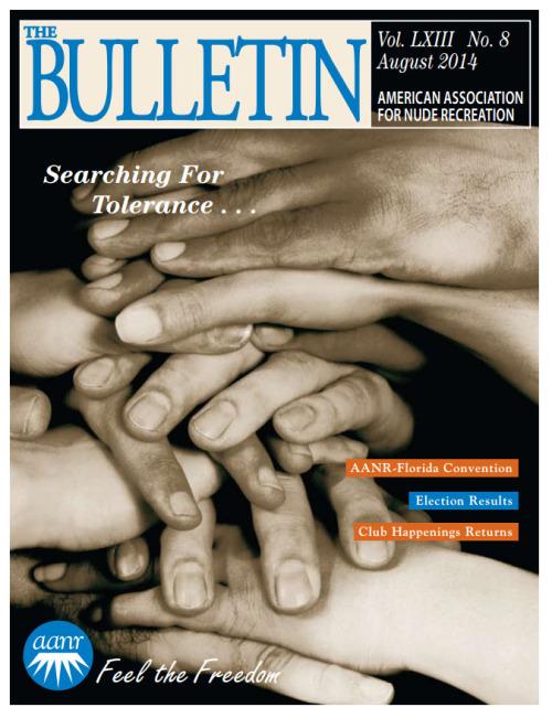 Resultado de imagen para the bulletin nudist, magazine AANR