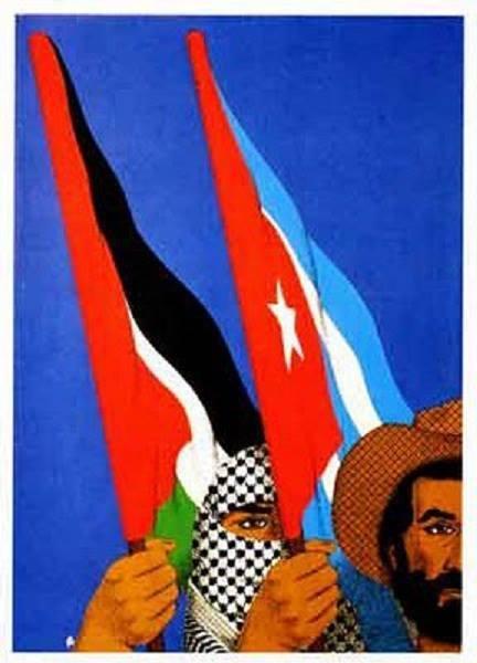 """""""L'odio dello Stato di Israele contro i palestinesi è tale che non vacillerebbero nell'inviare il milione e mezzo di uomini, donne e bambini di quel paese ai forni crematori nei quali sono stati sterminati dai nazisti milioni di ebrei di tutte le età""""<br /> - Fidel Castro –"""