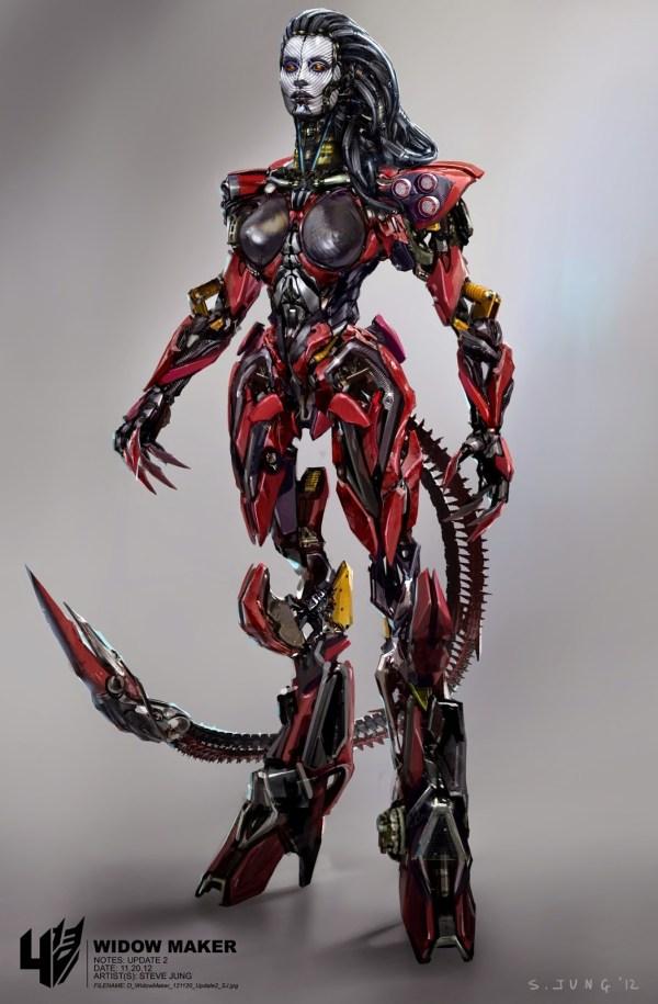 Female Transformer Concept Art
