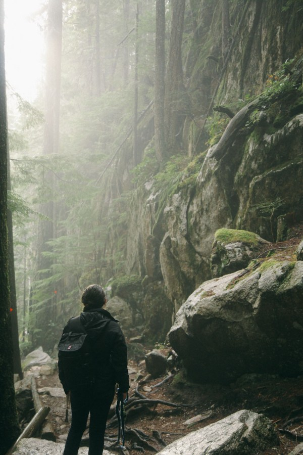 Trees Rain Mountains Forest Adventure Canada Explore Northwest Hike British Columbia