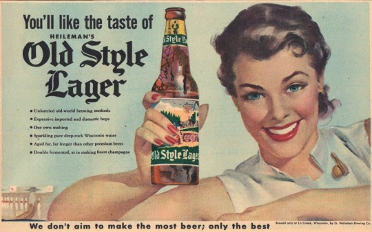 Heileman's Old Style Lager - published September 27, 1953