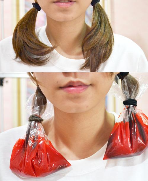 Dip Dye Hair With Kool Aid Fleeting Feelings