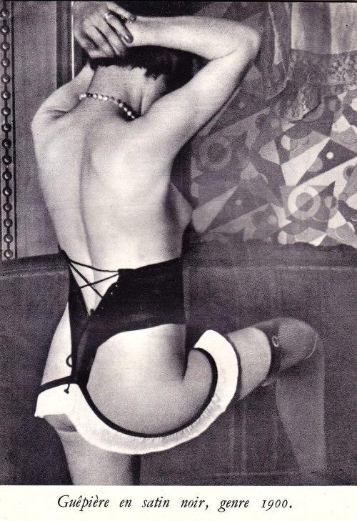 hoodoothatvoodoo:  Vintage Erotica  Great vintage lingerie. And babe.