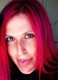 unnatural hair colors on Tumblr