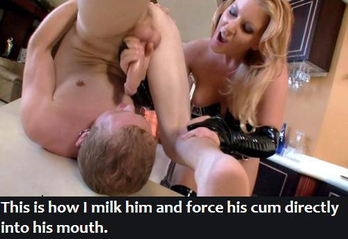 Eat husband cum my make i I Want