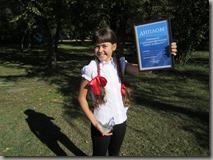 Победительница конкурса Александра Тутурина