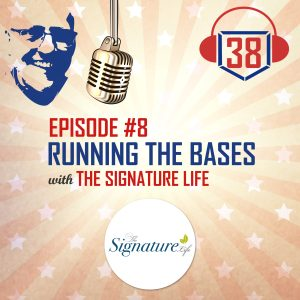 running the bases with the signature life