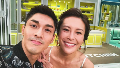 Kelvin Kwan Kelly Cheung TVB Cooking Beauties