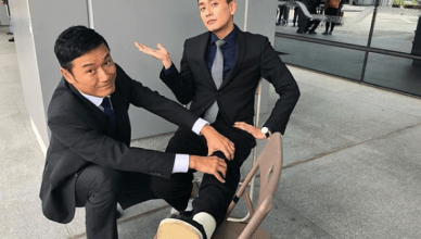 "Bosco Wong Resumes Filming ""Flying Tiger II"" After Surgery on Injured Foot"