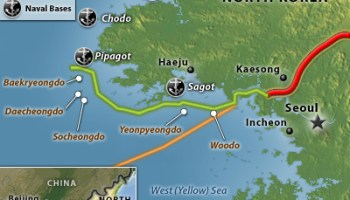 ROK Troops Prepare For North Korean Provocation On Western Islands - Us government map nll