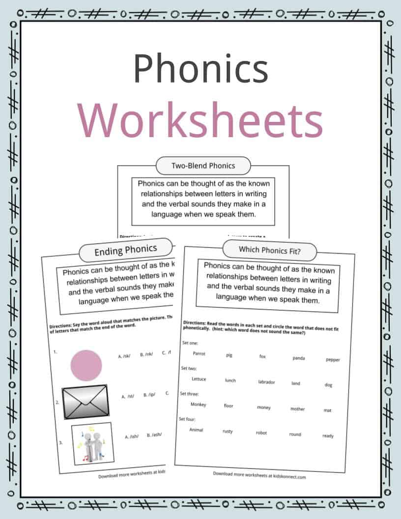 hight resolution of Phonics Table