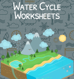 The Water Cycle Worksheet for Kids   Water Cycle Summary [ 3508 x 2480 Pixel ]
