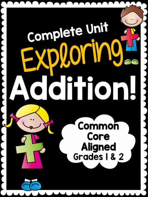 small resolution of Math Arithmetic Exploring Addition Worksheet Pack