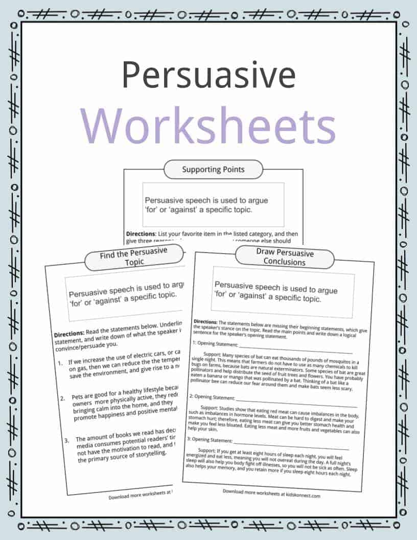 hight resolution of Persuasive Speech Topic Examples