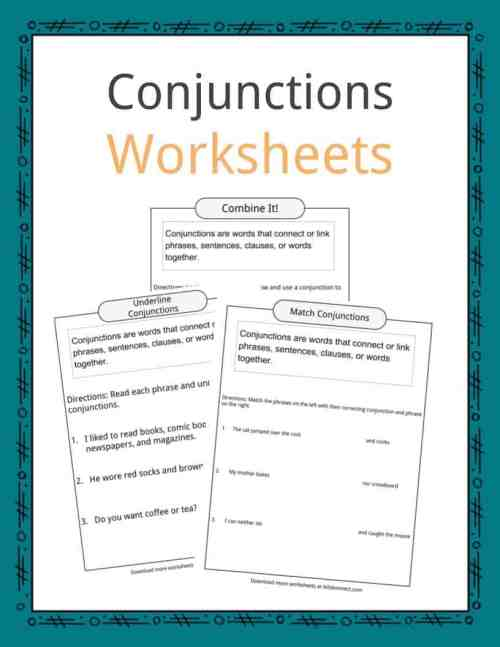 small resolution of Conjunctions Examples