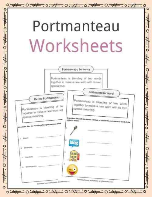 small resolution of Portmanteau Worksheets