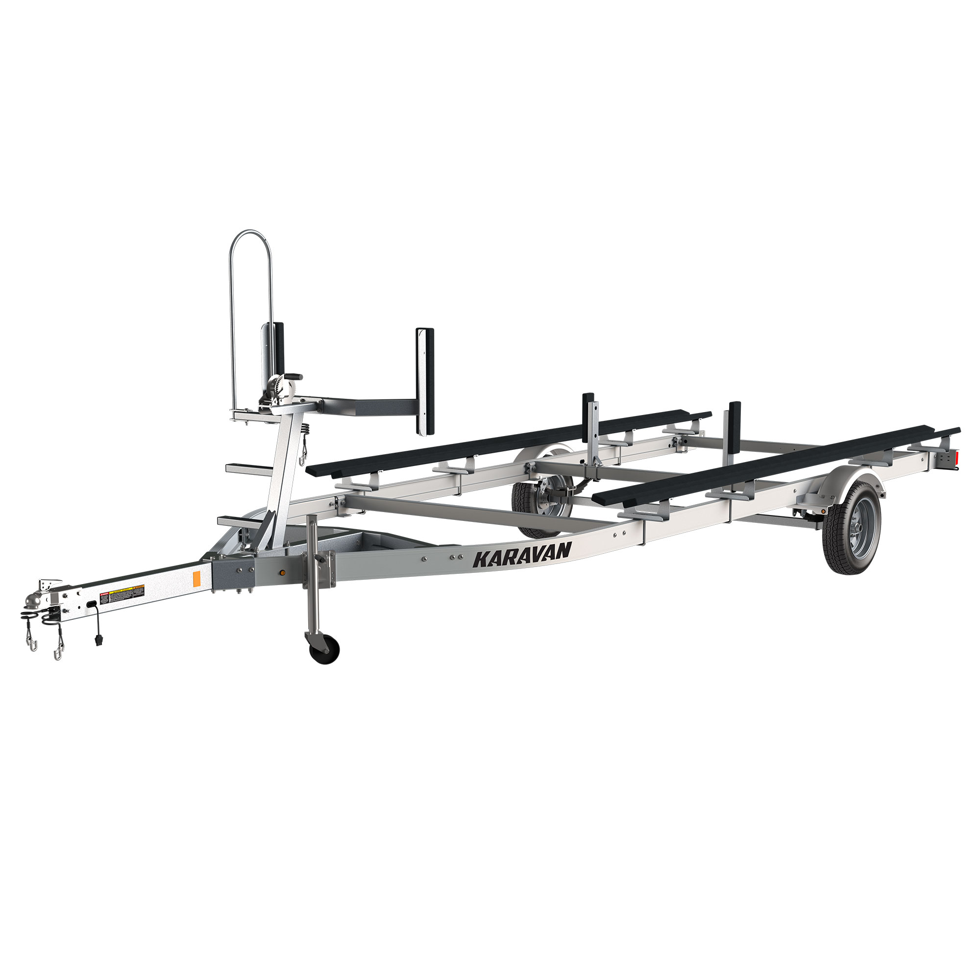 Single Axle Small Pontoon Trailer
