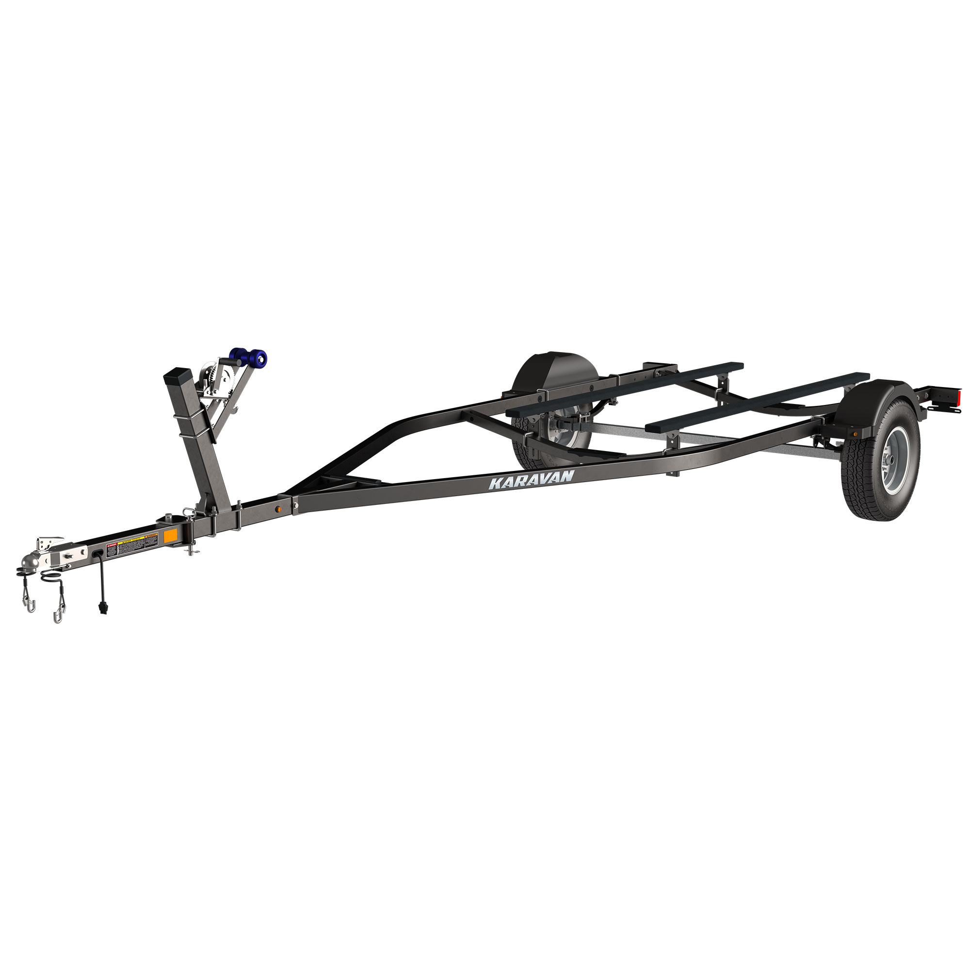 Single Axle Bunk Trailer