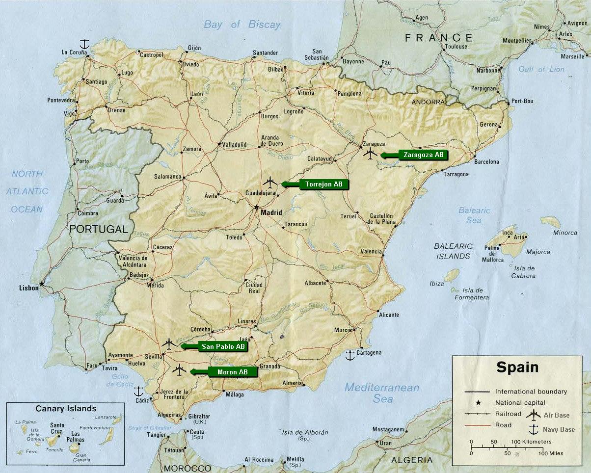 Map Espana Rd Combat Defense Squadron