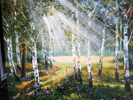 Солнечный свет. Работа Анатолия Резчикова
