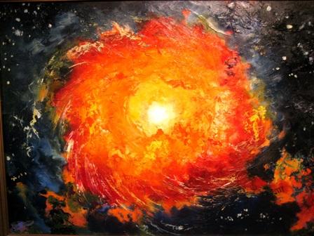 Вселенная. Работа Анатолия Резчикова