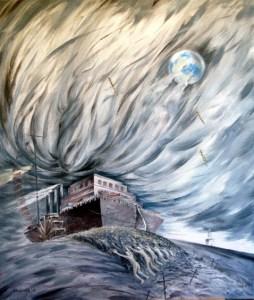 живопись александра мамнева, дорога которая не ведет к храму