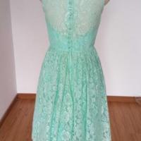 Mint Green Lace Bridesmaid Dress, Junior Bridesmaid ...