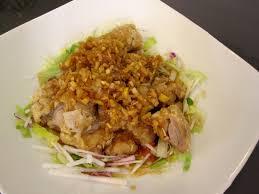 鶏むね肉の中華風ソース