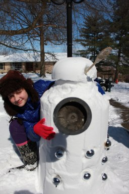 Anna and her dalek