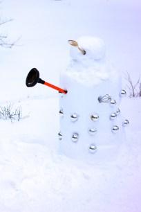 Dalek Snowman 3