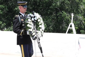 Tomb of the Unknown Soldier, Wreath Laying Ceremony