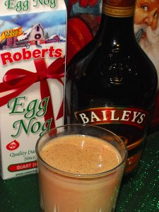 Egg Nog and Baileys