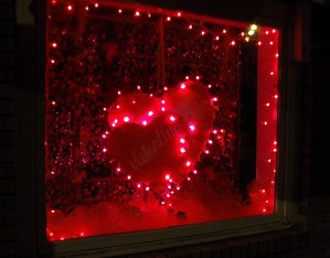 Valentines Shopping Window