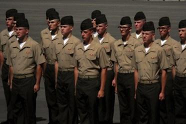 Marine Corps Mcrd Graduation Family Day 3 Quarters Today