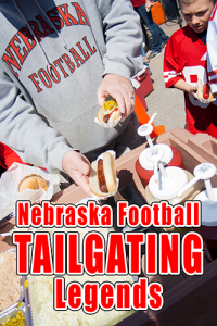 Nebraska football tailgating at a Husker game is legendary. College football is not just a game here, it's an event.