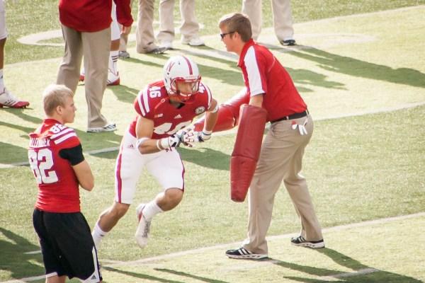 Sam Burtch, red shirt Husker freshman